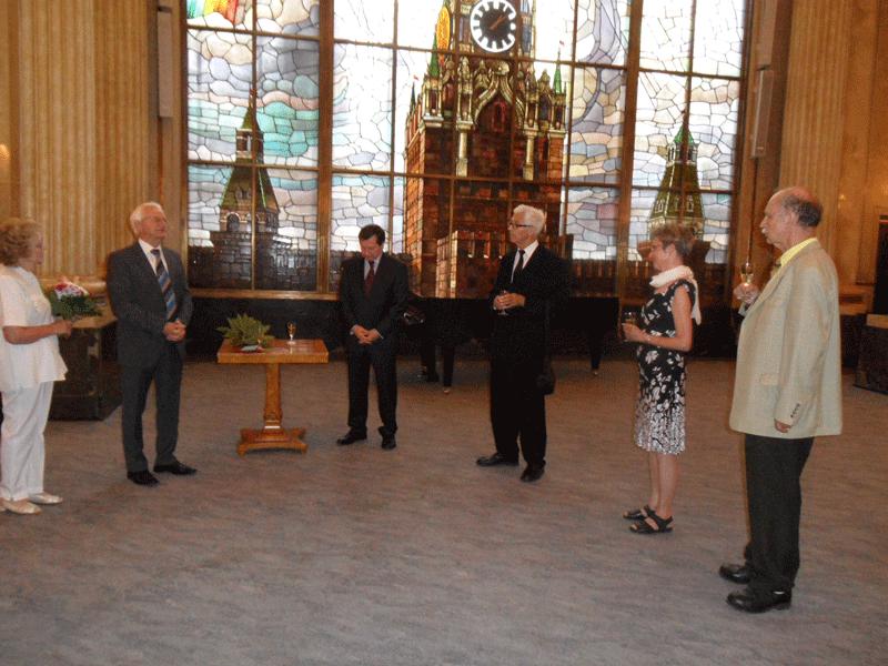 Puschkin-Medaille an Kuratoriumsmitglied Prof. Dr. Horst Schützler verliehen