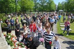 """Gemeinsames Erinnern am 8. Mai """"Stiftung und Freundschaftsgesellschaften als gute Gastgeber"""""""